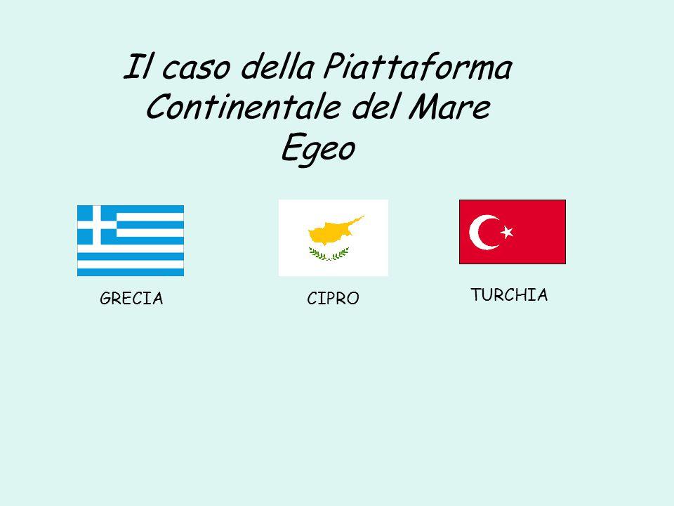Il caso della Piattaforma Continentale del Mare Egeo