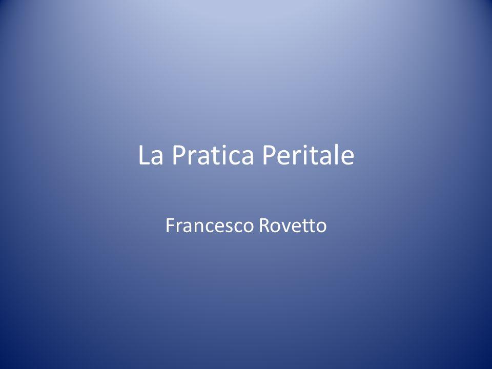 La Pratica Peritale Francesco Rovetto