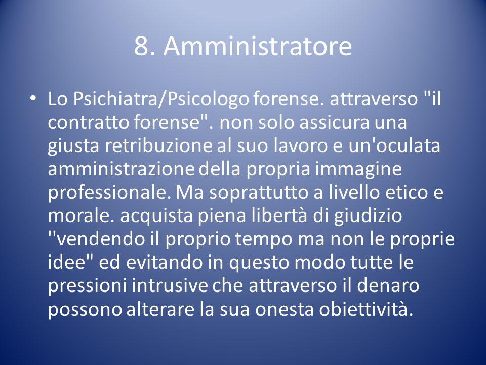 8. Amministratore