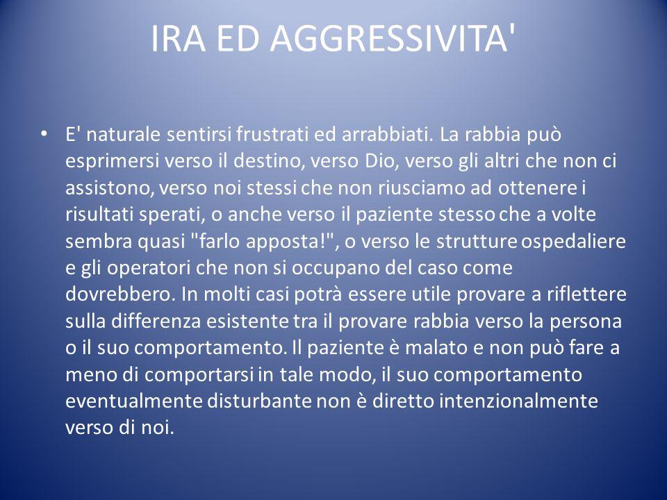 IRA ED AGGRESSIVITA