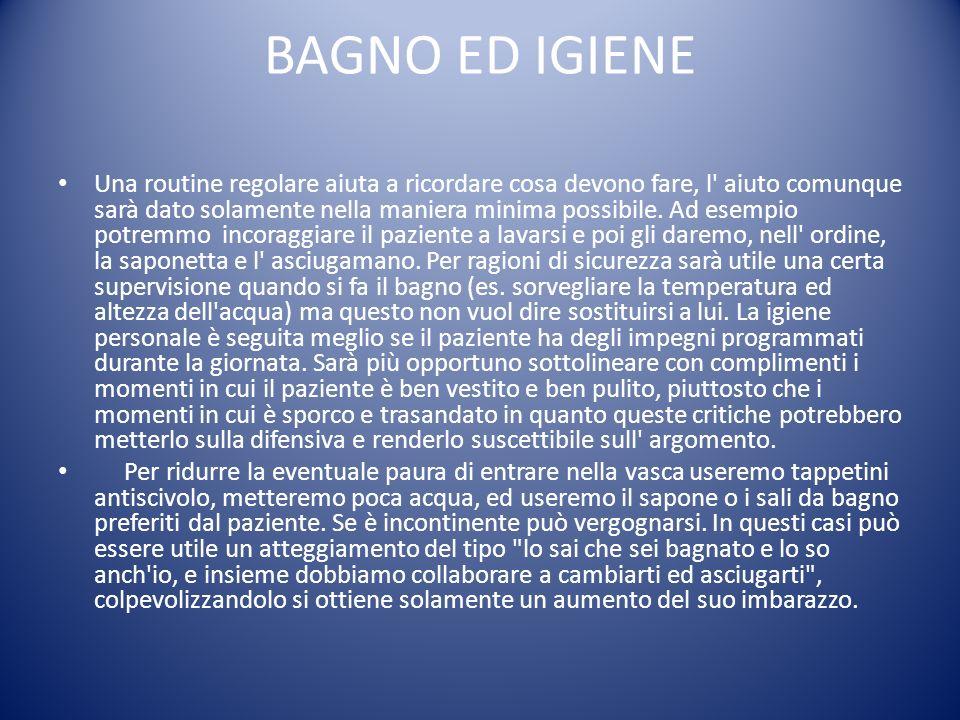 BAGNO ED IGIENE
