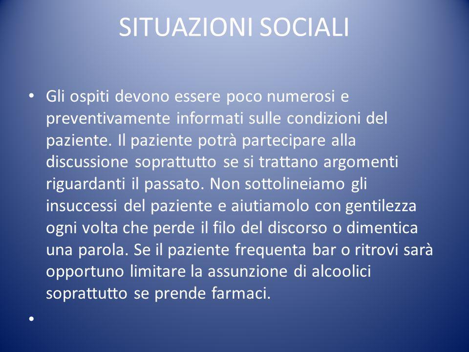 SITUAZIONI SOCIALI