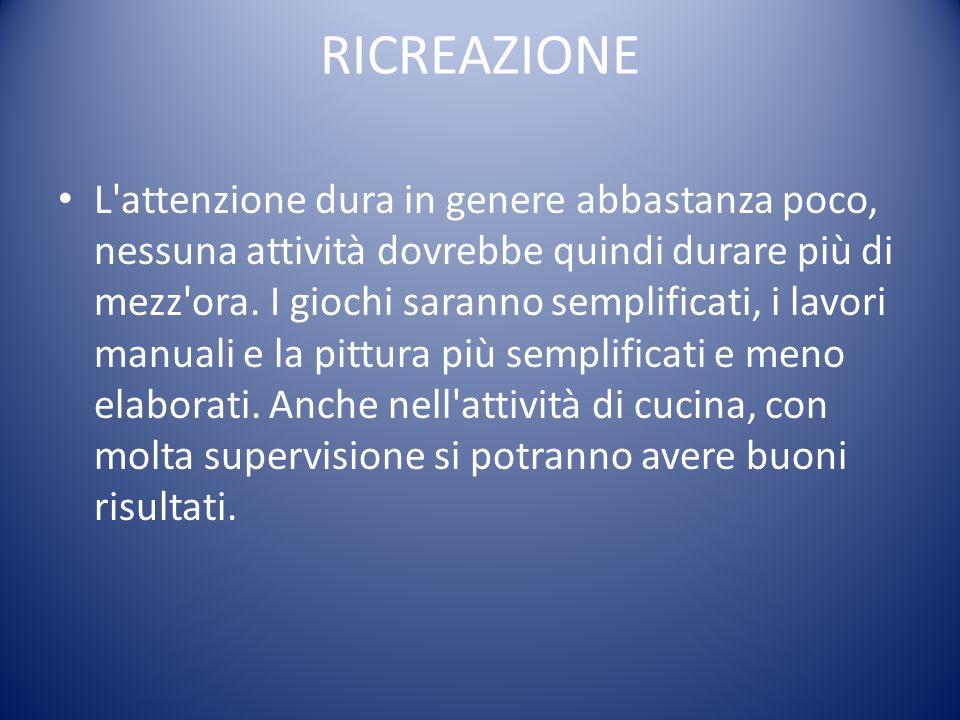 RICREAZIONE