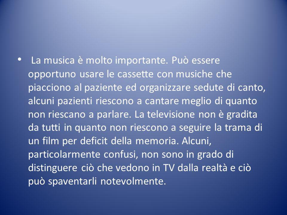La musica è molto importante