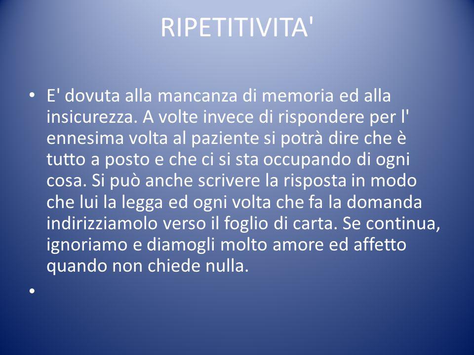 RIPETITIVITA