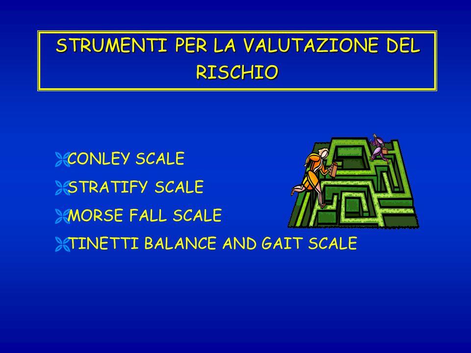 STRUMENTI PER LA VALUTAZIONE DEL RISCHIO