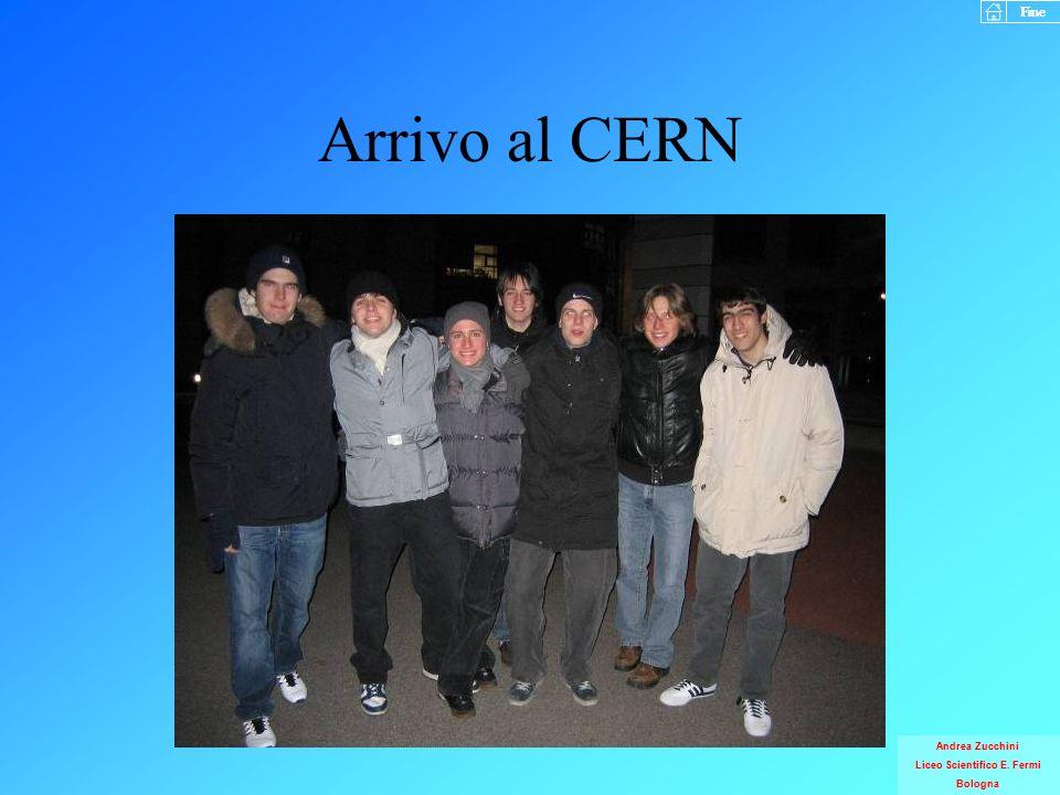 Arrivo al CERN