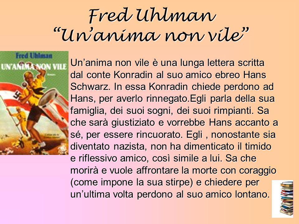 Fred Uhlman Un'anima non vile