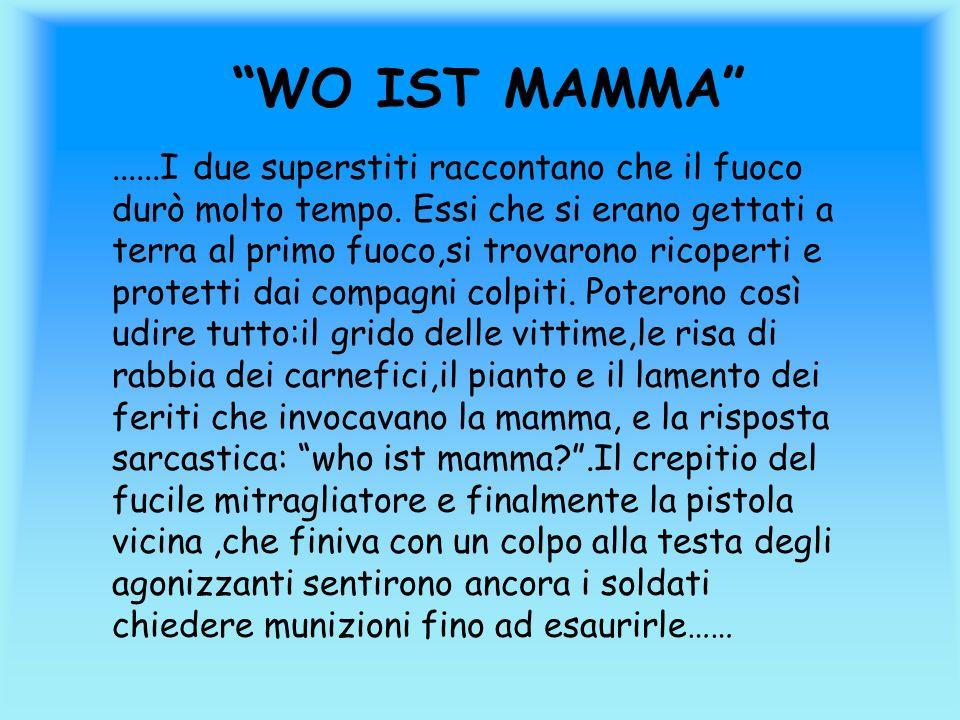 WO IST MAMMA
