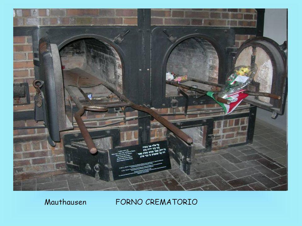 Mauthausen FORNO CREMATORIO