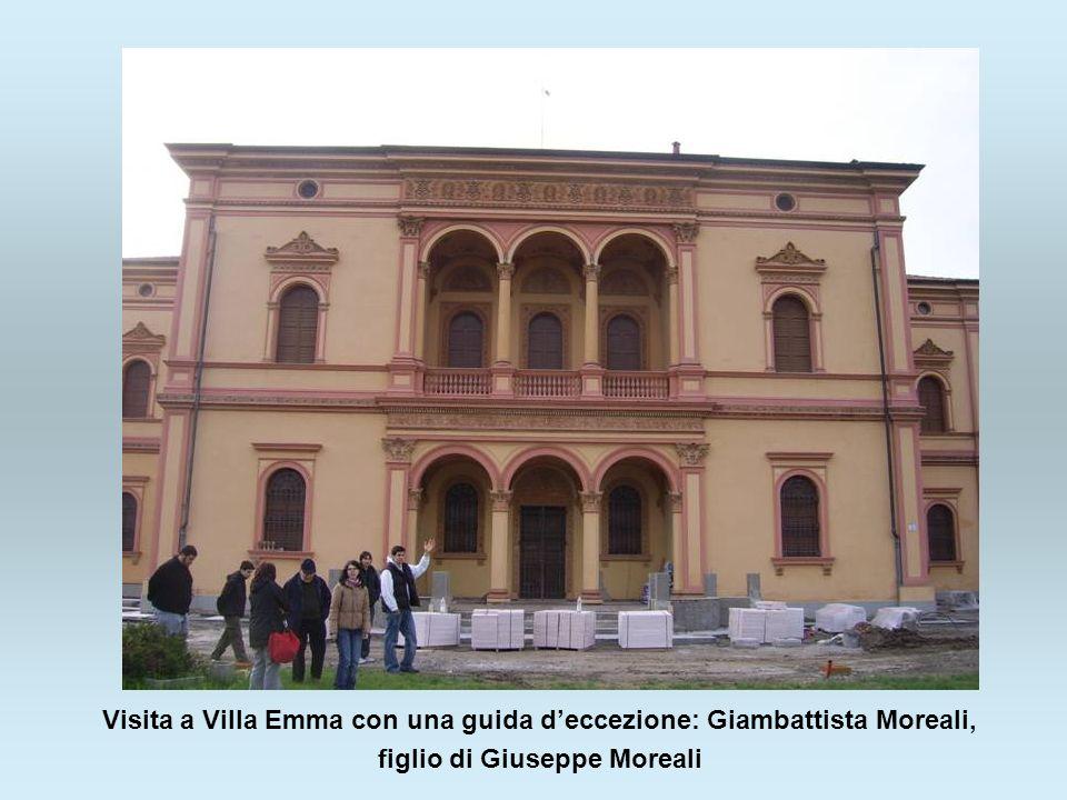 Visita a Villa Emma con una guida d'eccezione: Giambattista Moreali,