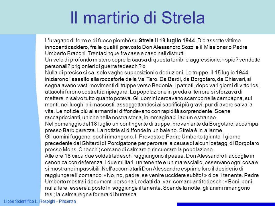 Il martirio di Strela