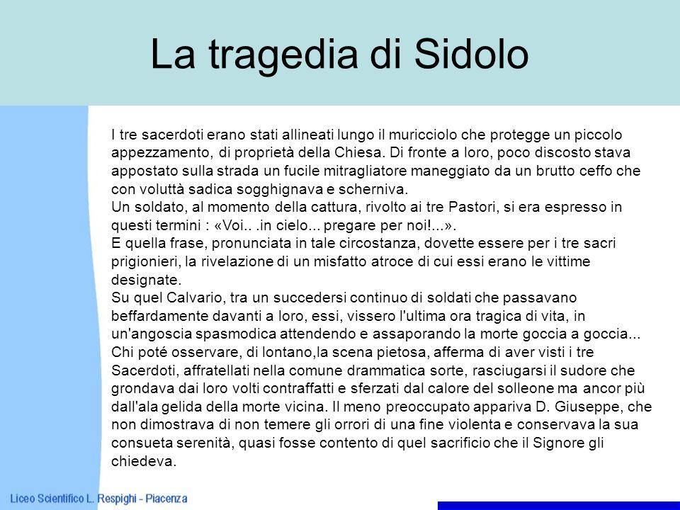 La tragedia di Sidolo