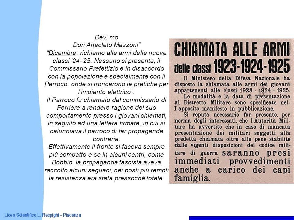 Dev. mo Don Anacleto Mazzoni