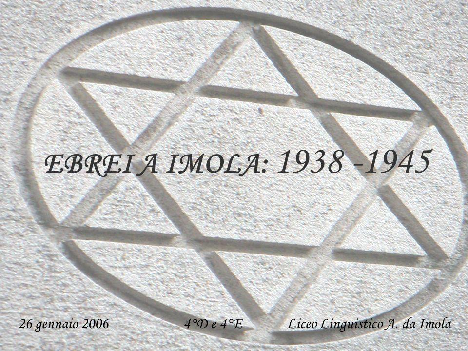 26 gennaio 2006 4°D e 4°E Liceo Linguistico A. da Imola