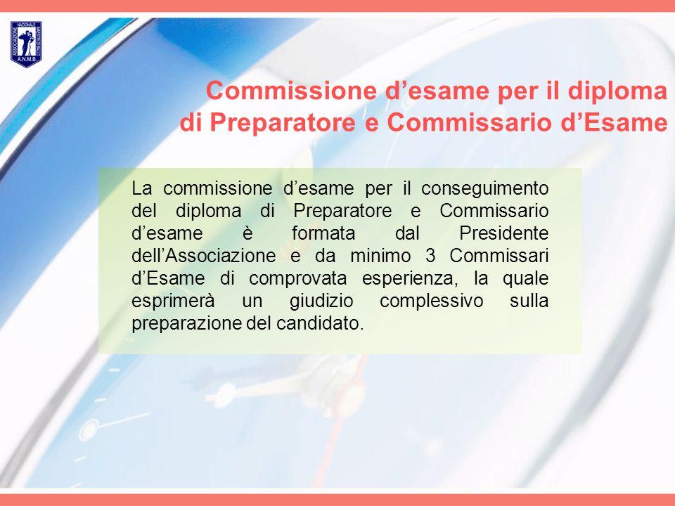 Commissione d'esame per il diploma