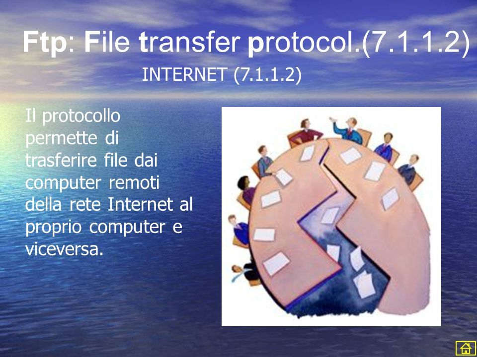 Ftp: File transfer protocol.(7.1.1.2)
