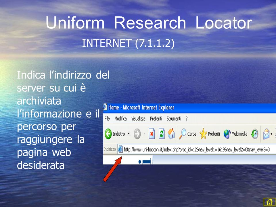Uniform Research Locator