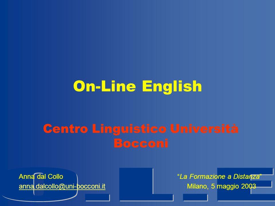 Centro Linguistico Università Bocconi
