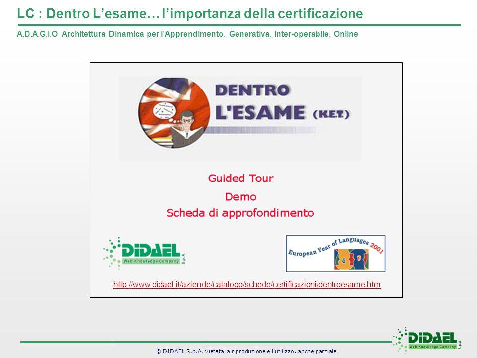 LC : Dentro L'esame… l'importanza della certificazione