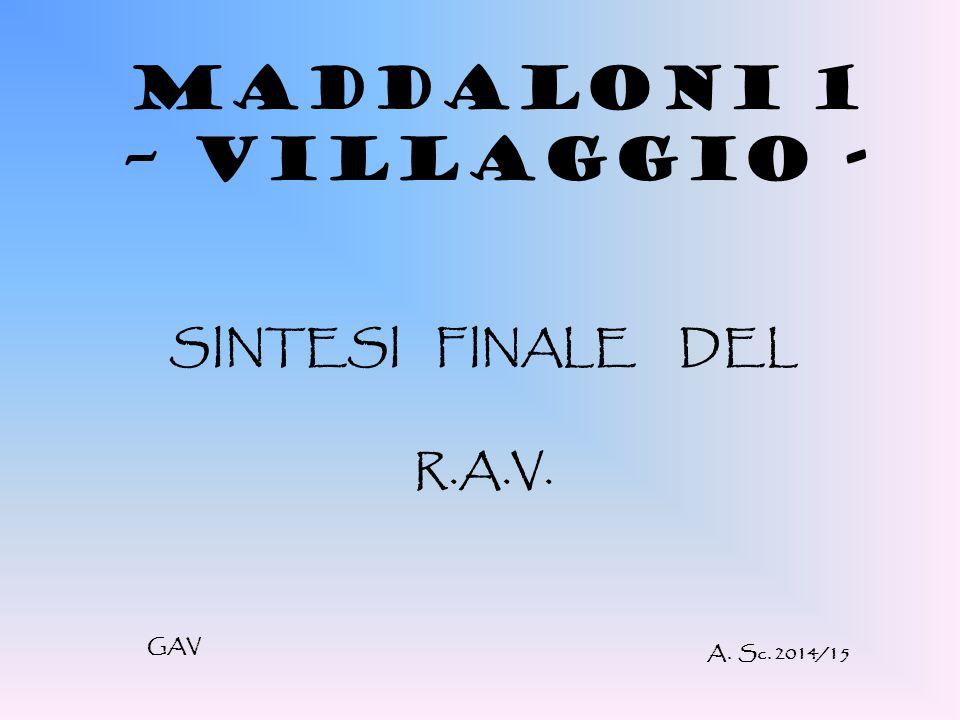 MADDALONI 1 – VILLAGGIO -