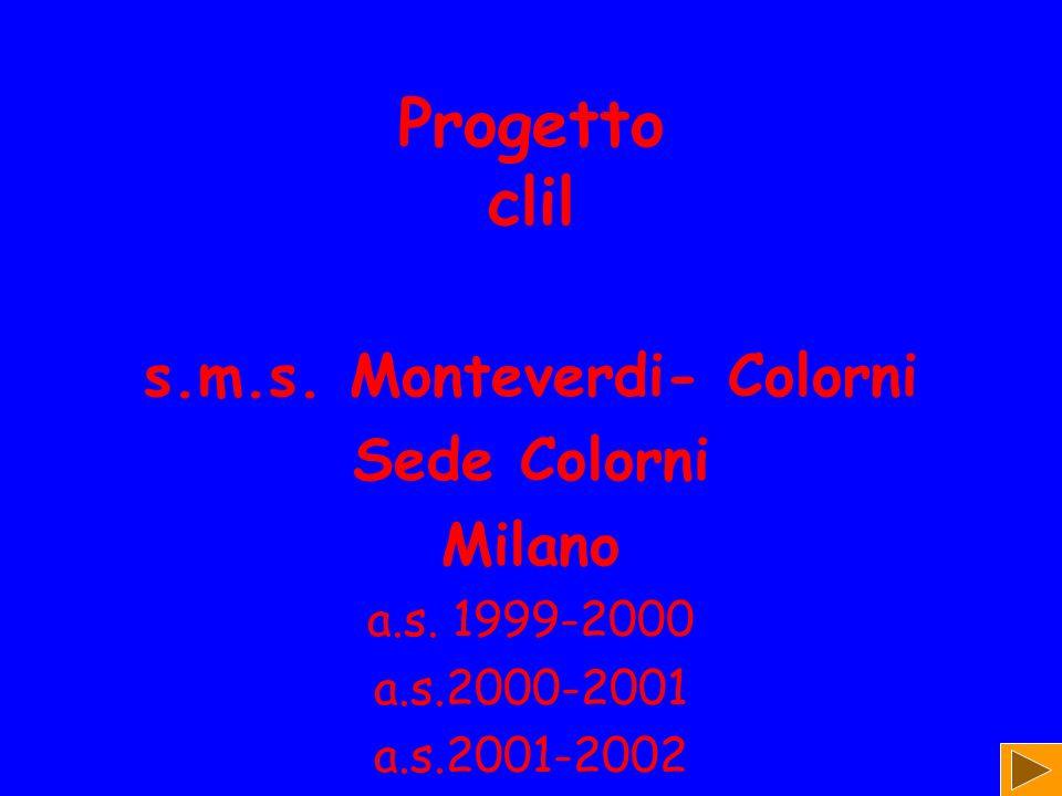 s.m.s. Monteverdi- Colorni
