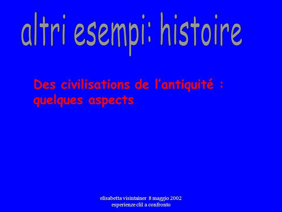 altri esempi: histoire