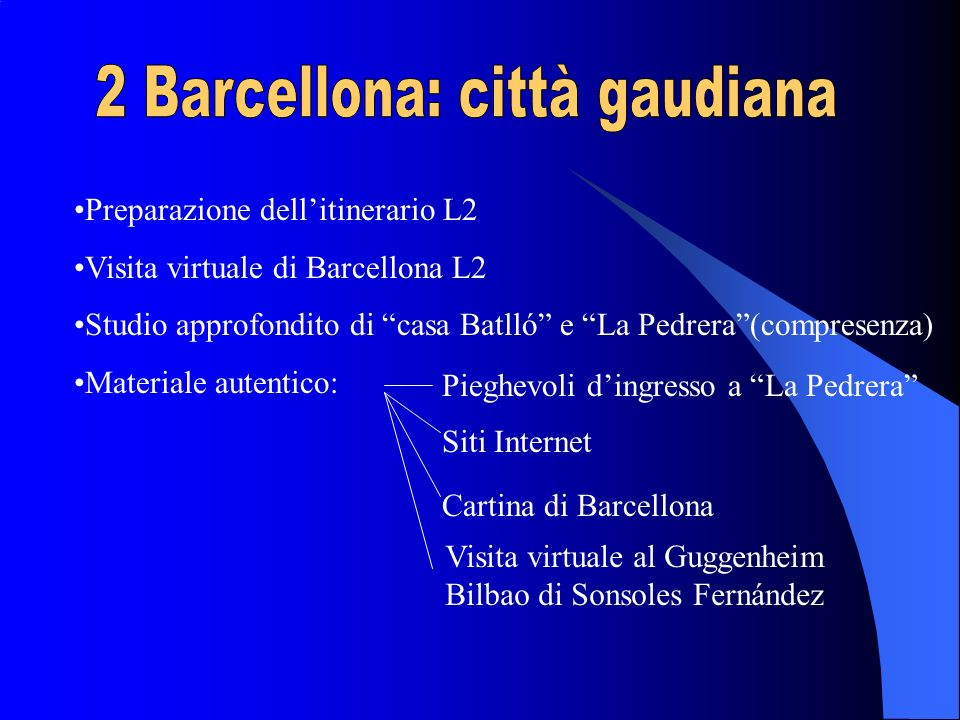 2 Barcellona: città gaudiana