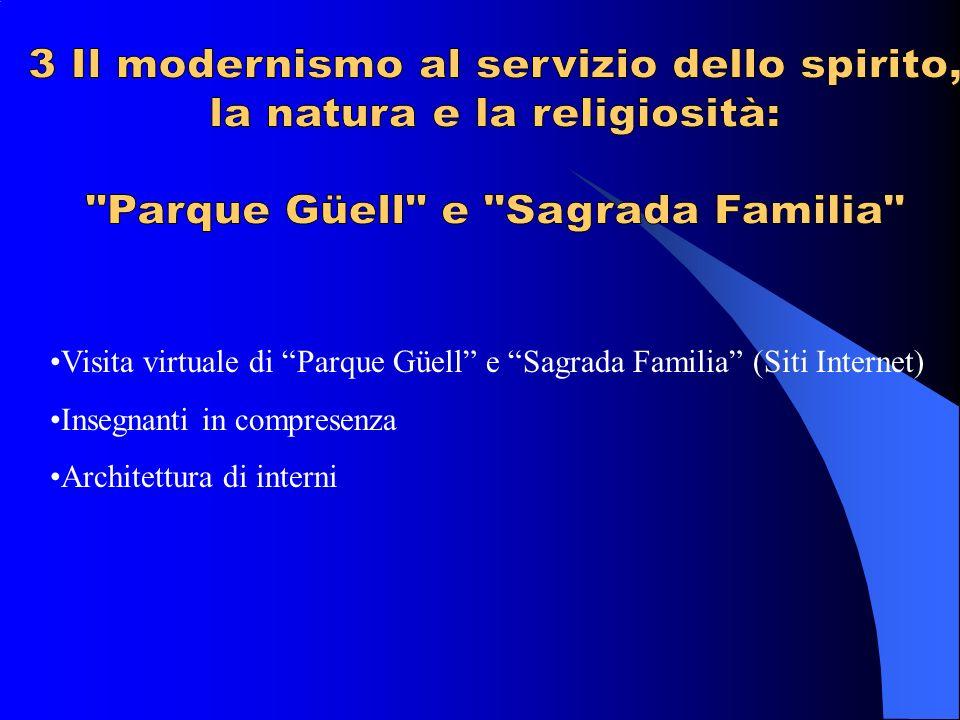 3 Il modernismo al servizio dello spirito, la natura e la religiosità: