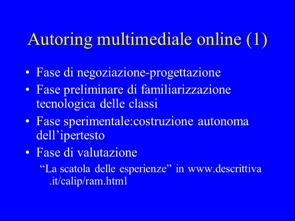 Autoring multimediale online (1)