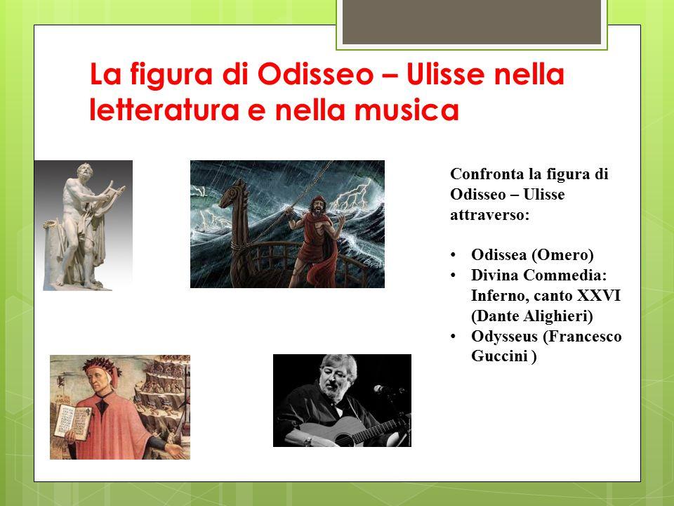 La figura di Odisseo – Ulisse nella letteratura e nella musica