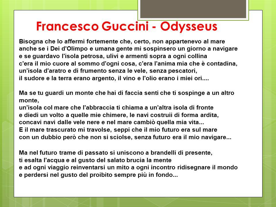 Francesco Guccini - Odysseus