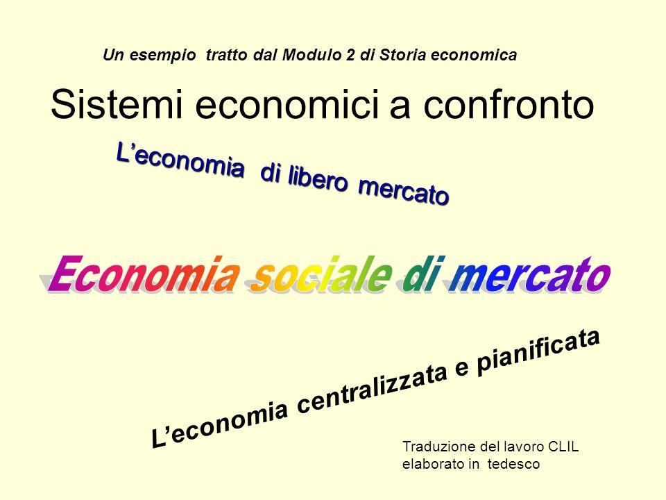 Sistemi economici a confronto
