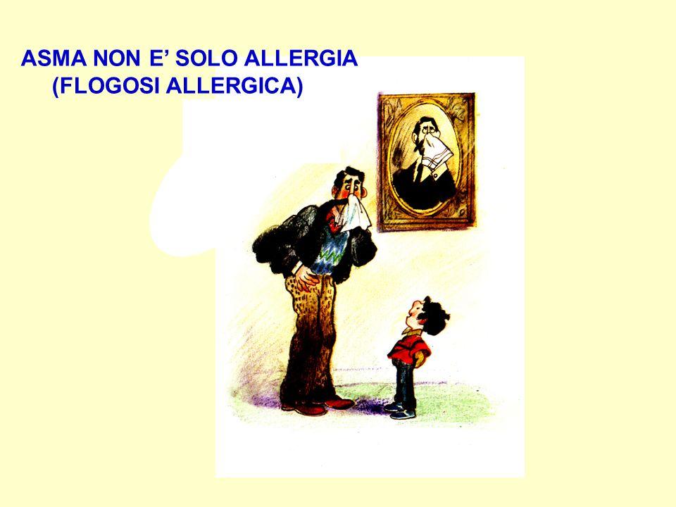 ASMA NON E' SOLO ALLERGIA