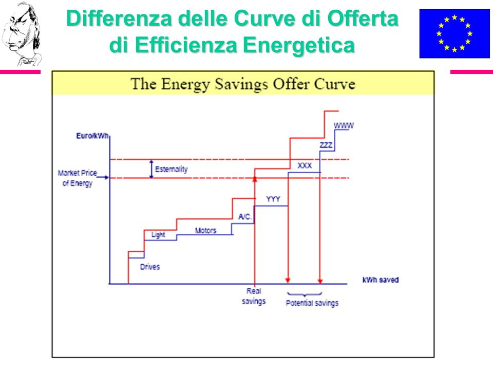 Differenza delle Curve di Offerta di Efficienza Energetica