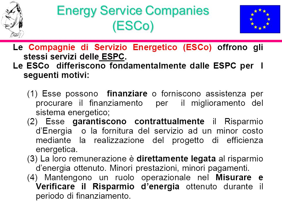 Energy Service Companies (ESCo)