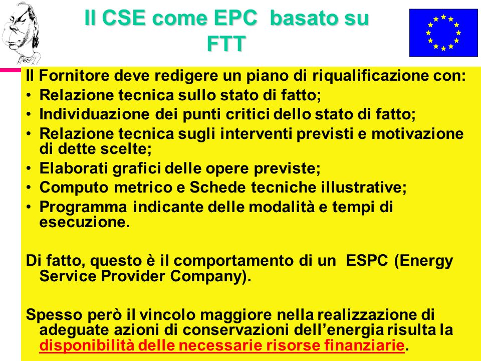Il CSE come EPC basato su FTT