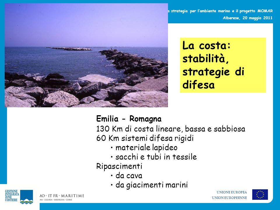 La costa: stabilità, strategie di difesa