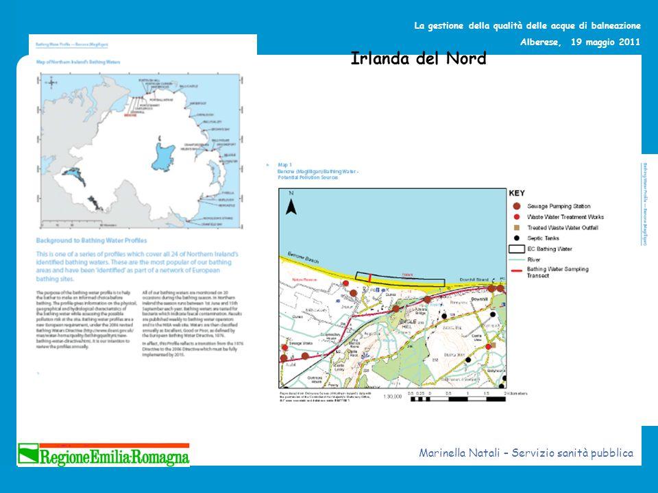 Irlanda del Nord Marinella Natali – Servizio sanità pubblica