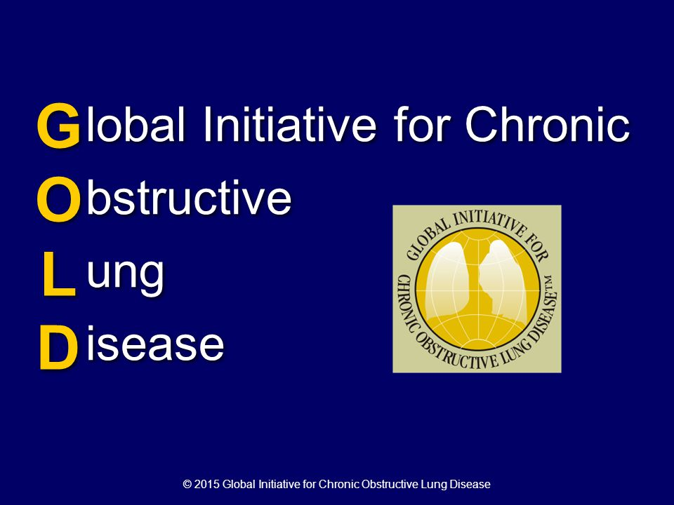 © 2015 Global Initiative for Chronic Obstructive Lung Disease