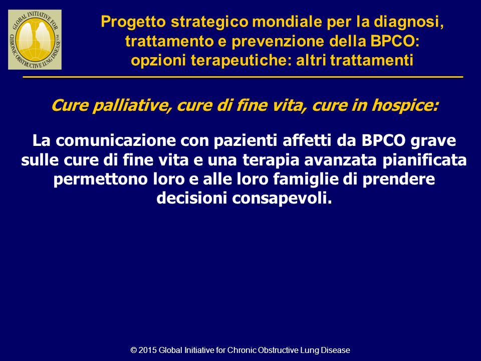 Cure palliative, cure di fine vita, cure in hospice: