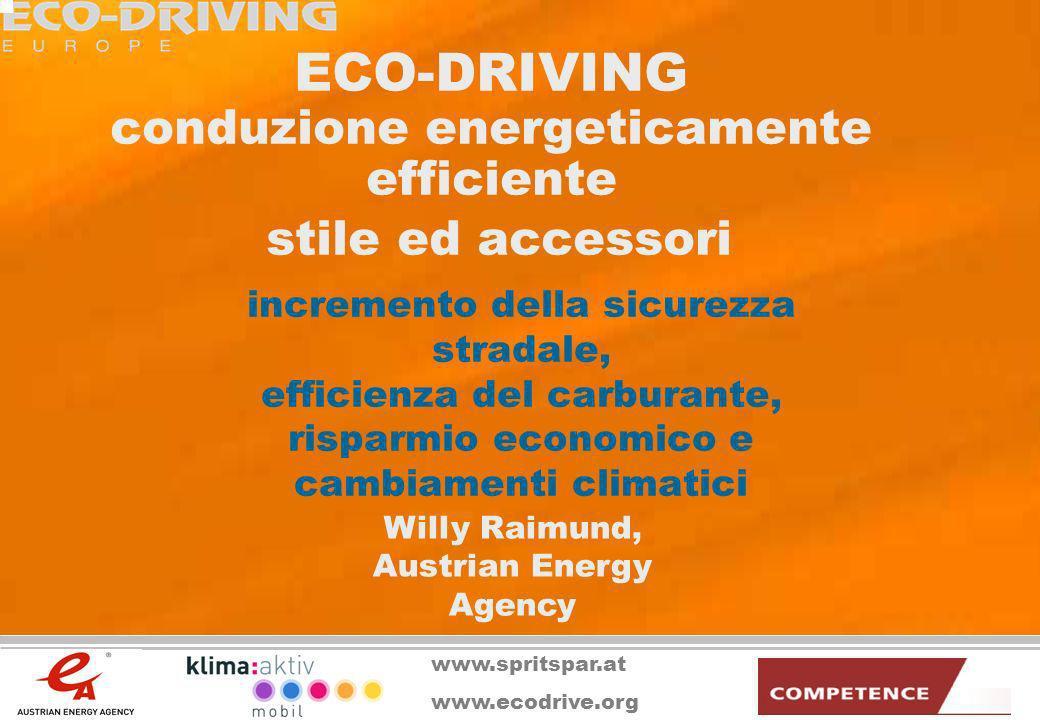 ECO-DRIVING conduzione energeticamente efficiente stile ed accessori