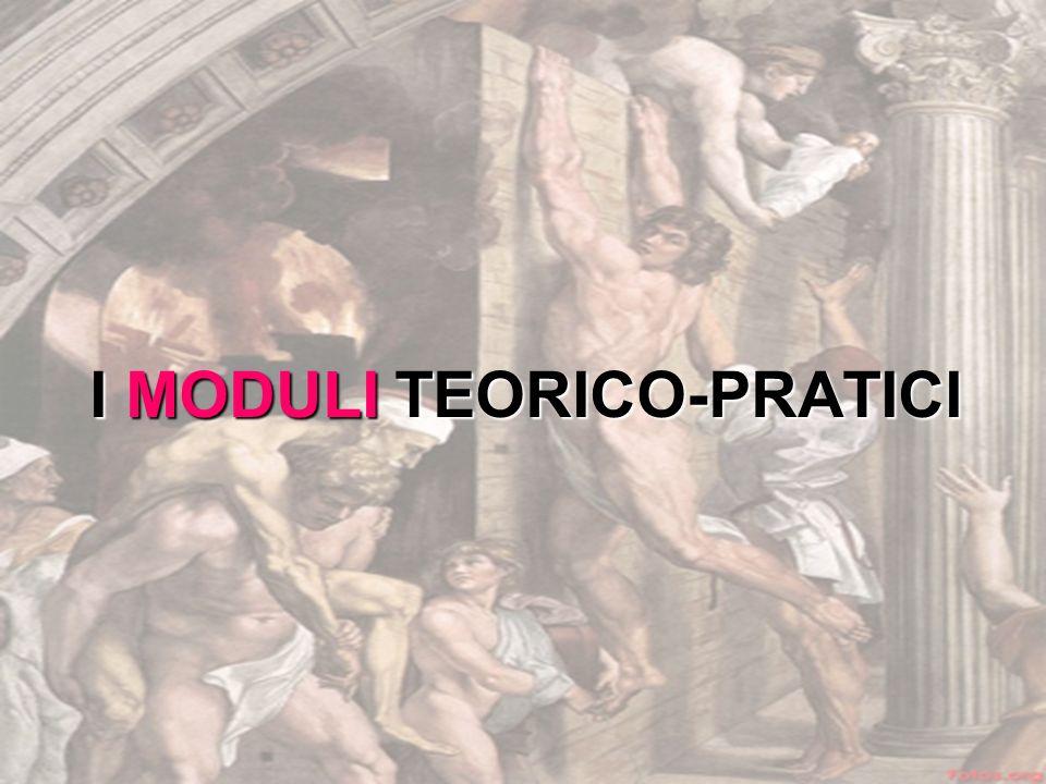I MODULI TEORICO-PRATICI