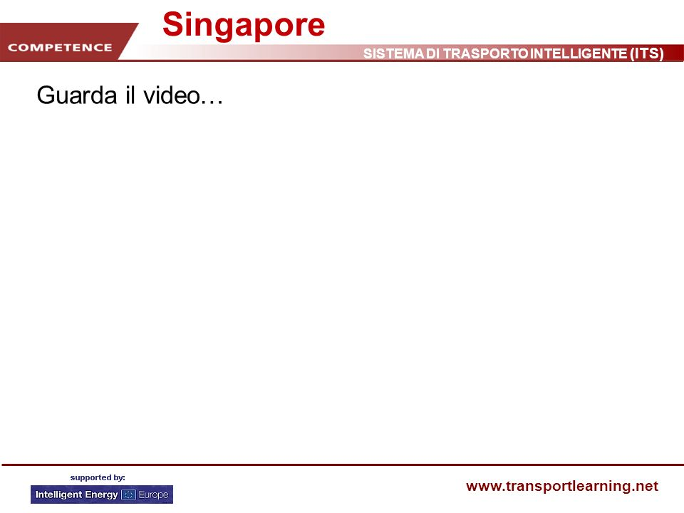 Singapore Guarda il video…