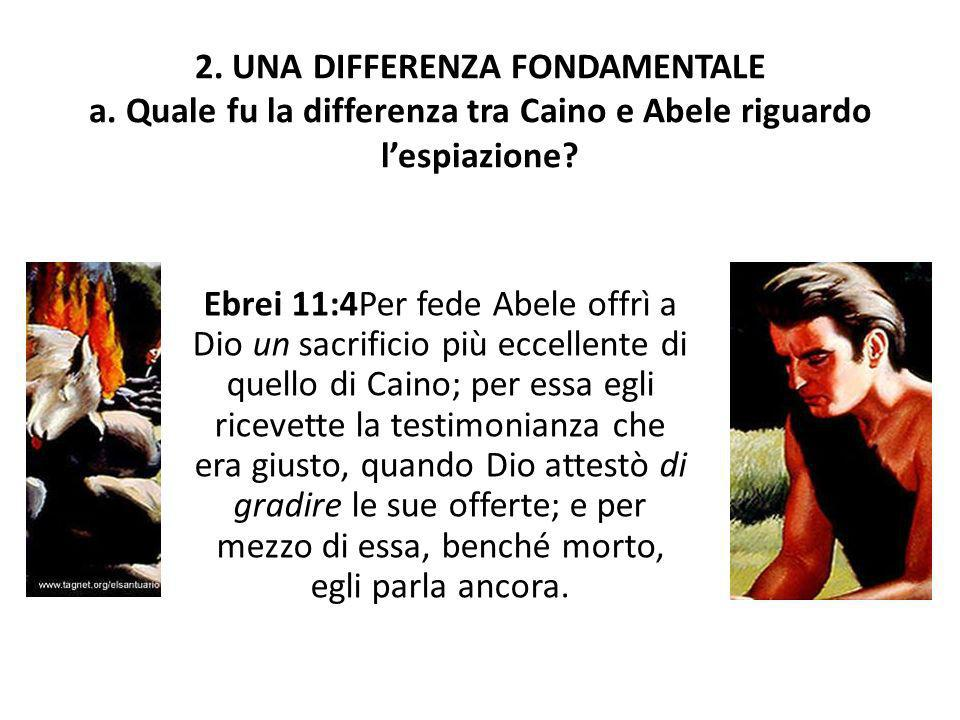 2. UNA DIFFERENZA FONDAMENTALE a