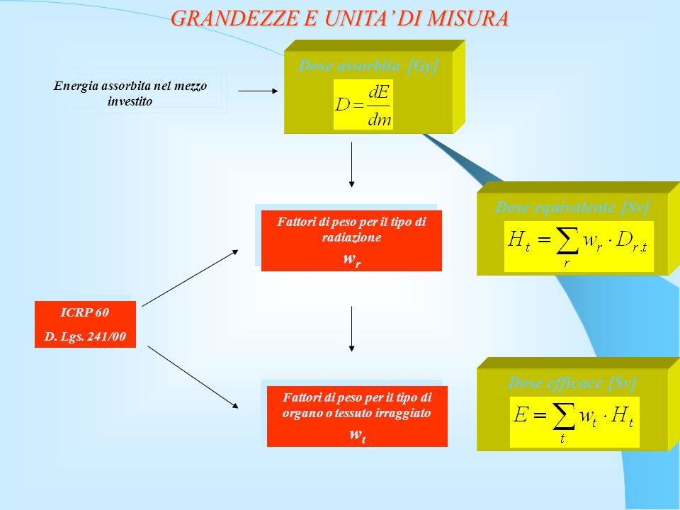 GRANDEZZE E UNITA' DI MISURA