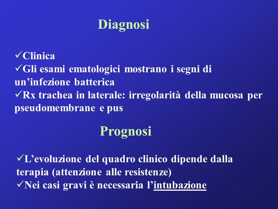 Diagnosi Prognosi Clinica