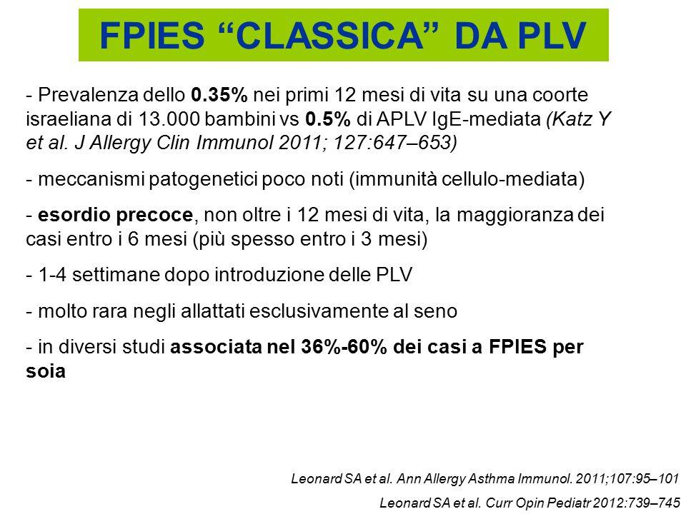FPIES CLASSICA DA PLV