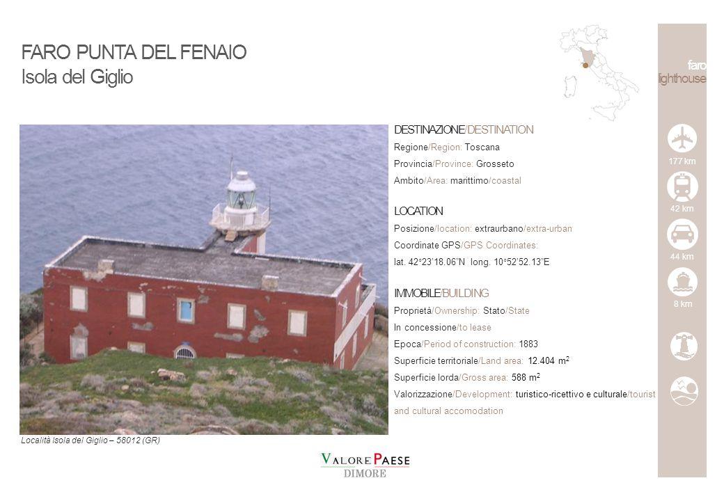 FARO PUNTA DEL FENAIO Isola del Giglio faro lighthouse