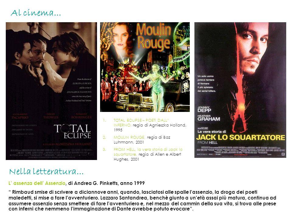 Al cinema... Nella letteratura...